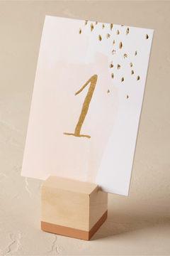 Cedar Wood Card Holders (6)