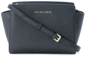 Michael Kors Selma Messenger Black Shoulder Bag - NERO - STYLE
