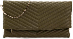 Urban Expressions Chevron Quilted Clutch - Women's
