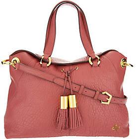 As Is orYANY Lamb Leather Satchel Bag - Kristen