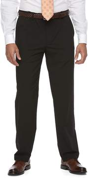 Croft & Barrow Big & Tall True Comfort 4-Way Stretch Classic-Fit Flat-Front Dress Pants