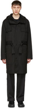 Craig Green Black Worker Anorak Coat