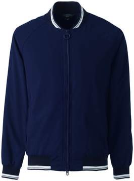 Lands' End Lands'end Men's Squall Varsity Jacket