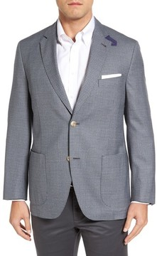 Kroon Men's Bono 2 Classic Fit Check Wool Sport Coat