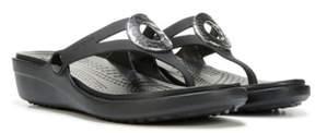 Crocs Women's Sanrah Hammered Metal Sandal