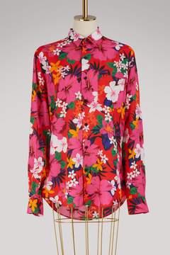 Ami Printed flowers shirt