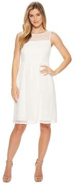 Adrianna Papell Embroidered Diamonds Fit and Flare Women's Dress