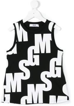 MSGM logo print top