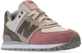 New Balance Little Girls' 574 Serpent Lux Casual Sneakers from Finish Line