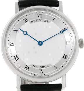 Breguet Classique 5157 18K White Gold Automatic 38mm Mens Watch
