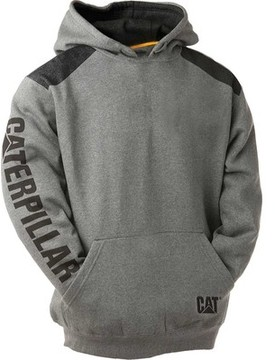Caterpillar Logo Panel Hooded Sweatshirt (Men's)