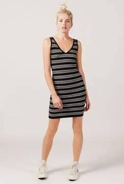 Azalea Striped Bodycon Sweater Dress