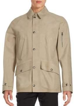 Ralph Lauren Purple Label Caleb Leather Jacket
