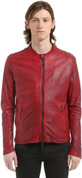 Giorgio Brato Nappa Leather Jacket