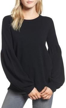 Chelsea28 Women's Velvet Back Sweater