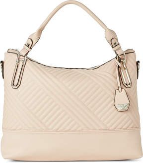 Jessica Simpson Powder Blush Ryanne Quilt Tote