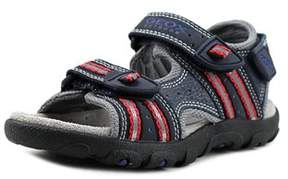 Geox Strada 11 Youth Open-toe Synthetic Blue Fisherman Sandal.