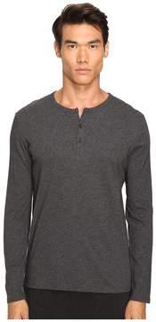 ATM Anthony Thomas Melillo Classic Henley Men's Long Sleeve Pullover