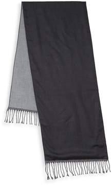 Saks Fifth Avenue Men's Two-Tone Wool Scarf