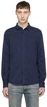 Nudie Jeans Navy Henry Shirt