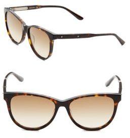 Bottega Veneta 55mm Cateye Sunglasses