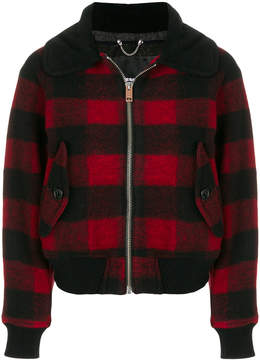 Diesel plaid jacket