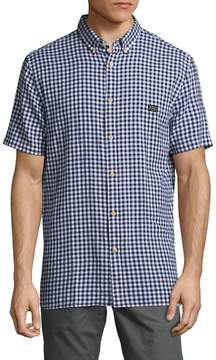 Barney Cools Men's Woven Button Up Sportshirt