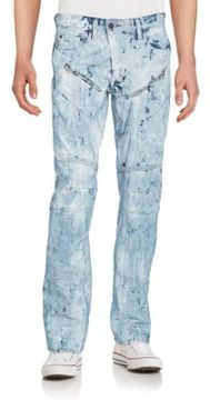 PRPS Dyed Low Rise Straight Leg Jeans