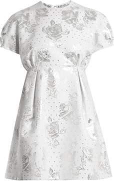 Emilia Wickstead Arielle floral-jacquard mini dress