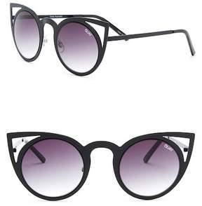 Quay Invader 50mm Cat Eye Sunglasses