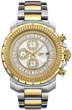 JBW Titus Mother of Pearl Two Tone Men's Watch