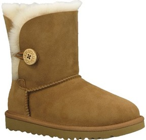 UGG Unisex Infant Bailey Button Toddler Chestnut Size 8 M