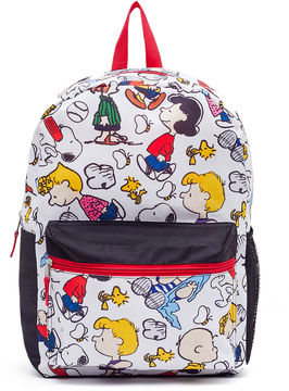 Asstd National Brand Peanuts Printed Backpack - Girls 7-16