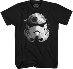 Star Wars Novelty T-Shirts Trooper Helmet Graphic Tee