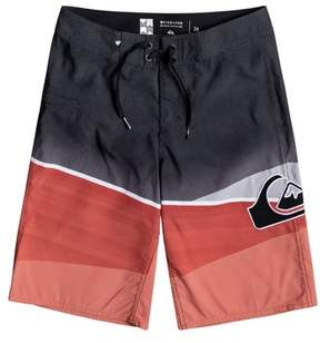 Quiksilver Boy's Slash Logo Board Shorts