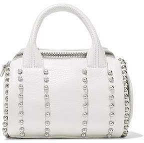 Alexander Wang Rockie Studded Pebbled-Leather Tote