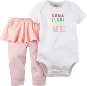 Carter's Baby Girls Easter Tutu Bodysuit Set