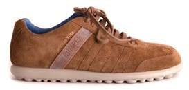 Camper Men's Brown Suede Sneakers.