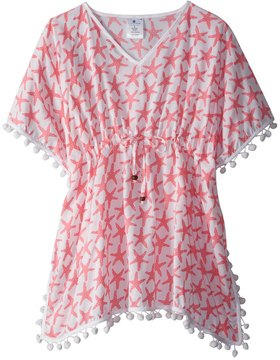 Snapper Rock Girls' Starfish Kaftan Cover Up (2T14) - 8155103