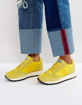 Saucony Jazz O Vintage Sneakers In Yellow