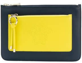Versace double compartment pouch
