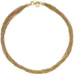 Dolce Vita 18kt Gold-Plated Multi-Strand Faceted Necklace