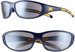 NCAA Adult Michigan Wolverines Wrap Sunglasses