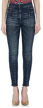 Balmain Women's High-Rise Skinny Jeans