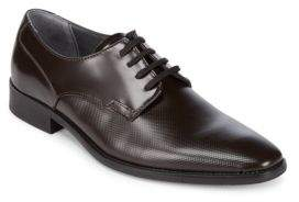 Calvin Klein Ripley Box Lace-Up Leather Shoes