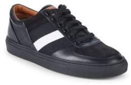 Bally Henke Leather Low-Top Sneakers