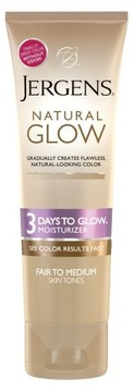 Jergens Natural Glow Moisturizer 3 Days to Glow Moisturizer - 4 oz (Fair/Medium)