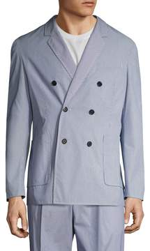 3.1 Phillip Lim Men's Hand Tailored Double Breasted Sportcoat