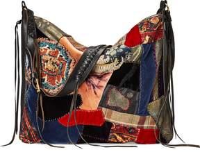 Ralph Lauren Large Patchwork Shoulder Bag