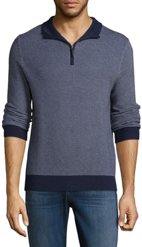 Brooks Brothers Men's Mockneck Cotton Sweater